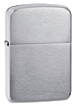 SKU-1941  1941 REPLICA BRUSHED CHROME ZIPPO LIGHTER