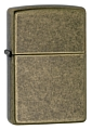 SKU-201FB  ANTIQUE BRASS ZIPPO LIGHTER