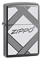 SKU-20969  UNPARALLELED TRADITION BLACK ICE ZIPPO LIGHTER
