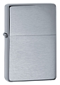 SKU-230-25  VINTAGE BRUSHED CHROME ZIPPO LIGHTER