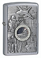 SKU-24457 JOINED FORCES EMBLEM ZIPPO LIGHTER
