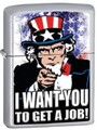 SKU-806901 UNCLE SAM ZIPPO LIGHTER