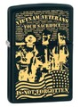 SKU-811323 VIETNAM VET NOT FORGOTTON ZIPPO LIGHTER