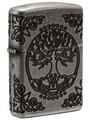 SKU 29670 TREE OF LIFE- FLOWER OF LIFE ZIPPO LIGHTER